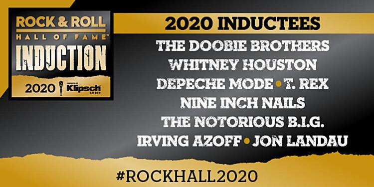 Rock Hall of Fame 2020 Inductees