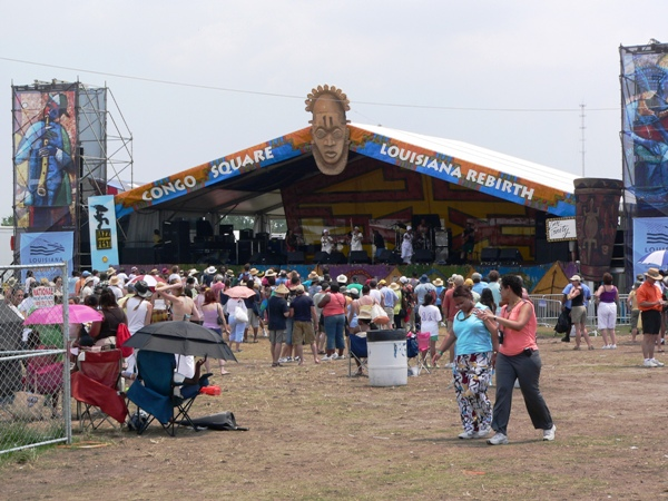 Congo Square at Jazz Fest 2006