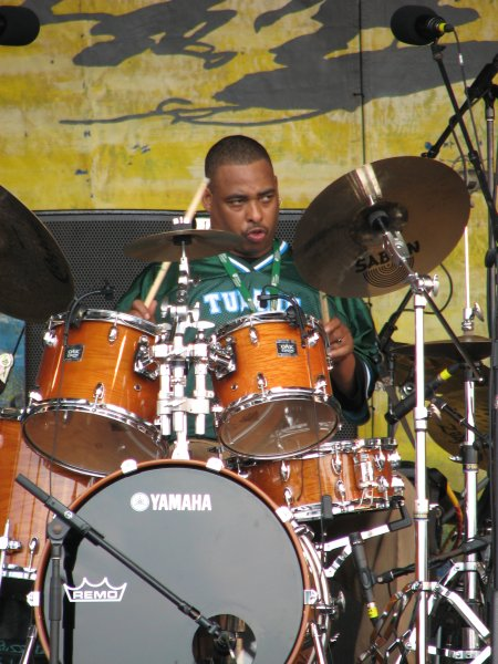 Russell Batiste, Jr. at Jazz Fest 2009