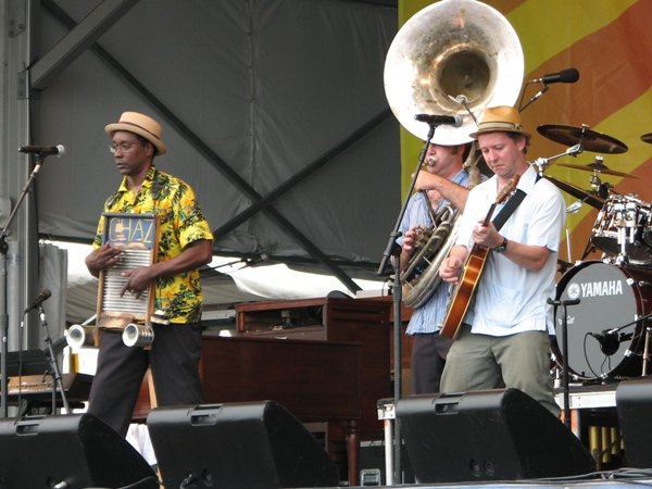 Tin Men at Jazz Fest 2010