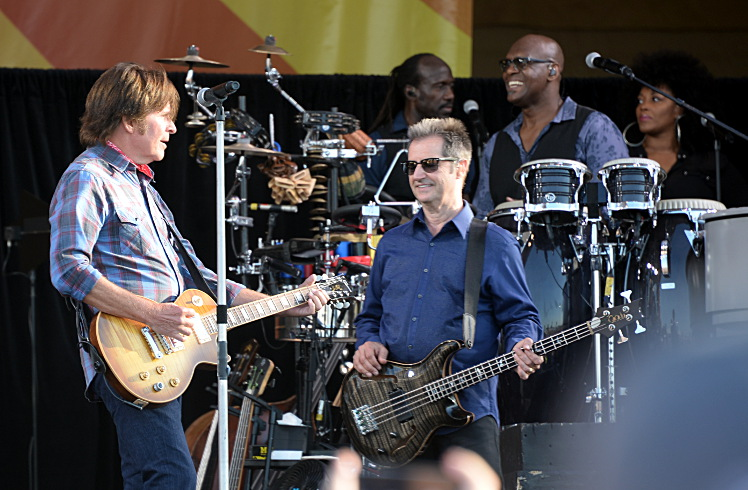 John Fogerty with the E Street Band