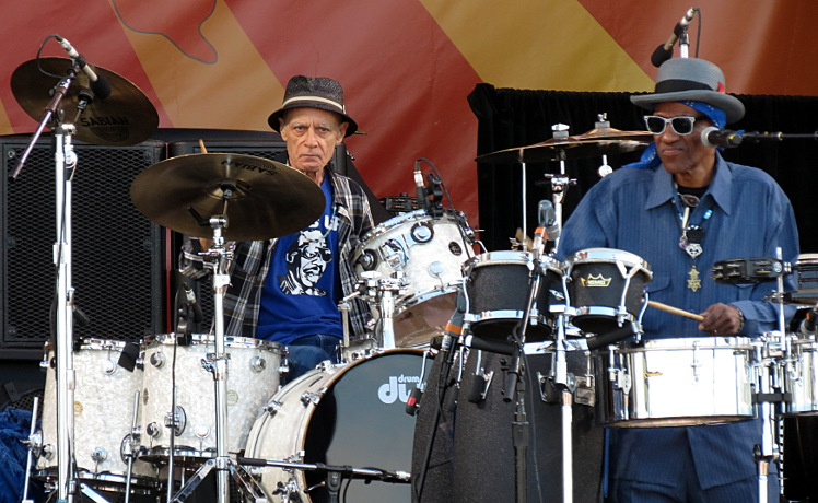 Johnny Vidacovich & Cyril Neville