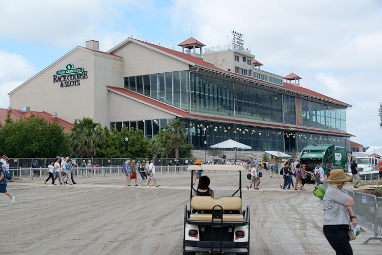 Fairgrounds Grandstand in 2016