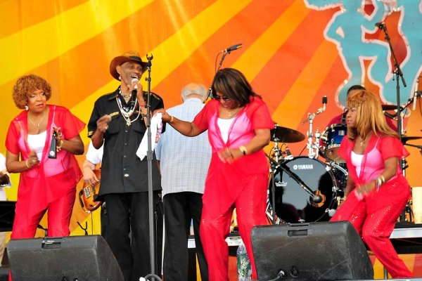 The Dixie Cups at Jazz Fest 2008
