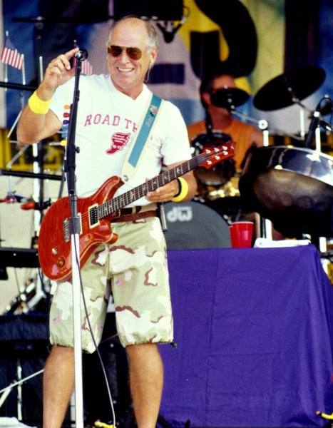 Jimmy Buffett at Jazz Fest 2002