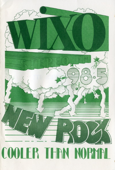 WIXO New Rock Survey May 1973 Page 1