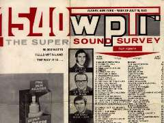 WPTR Super Sound Survey from May, 1970