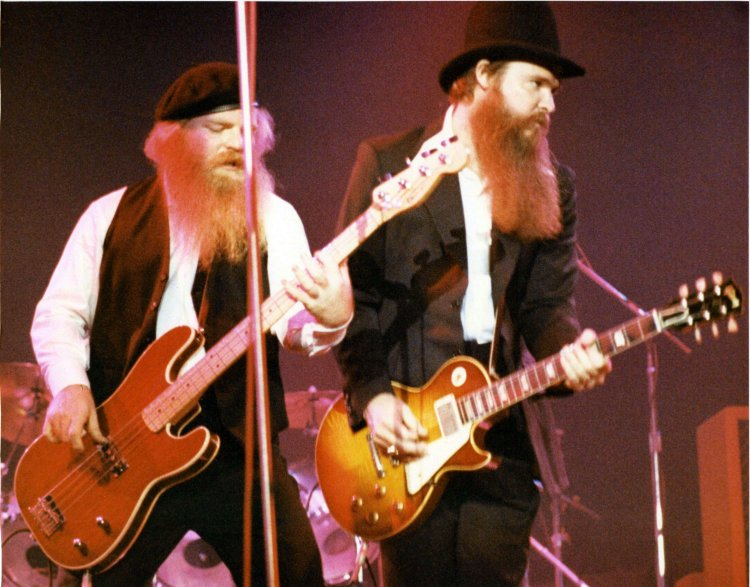 Dusty & Billy of ZZ Top